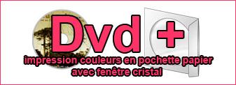 Duplication de Dvd pochette avec impression couleurs sur disque professionnel du pressage et gravure sur disque à toulouse midi Pyrénées et Languedoc
